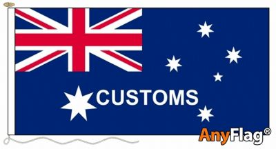 - AUSTRALIAN CUSTOMS ANYFLAG RANGE - VARIOUS SIZES